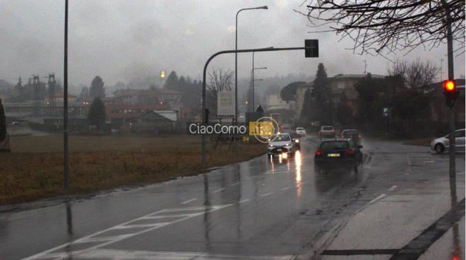 automobilisti da cartellino rosso a Cantù