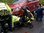 incidente auto moto cima di porlezza