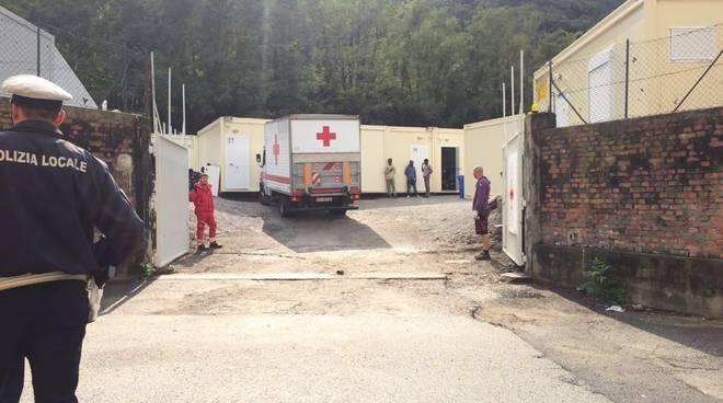 ingresso centro per migranti san rocco