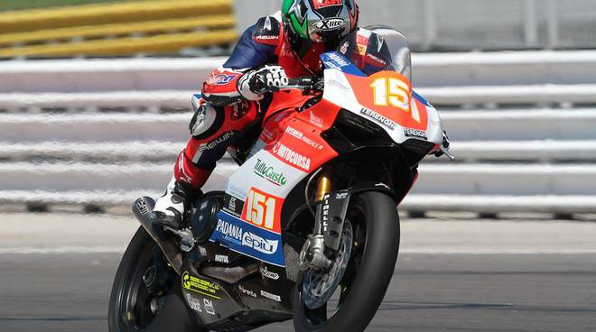 matteo baiocco e team motocorsa civ