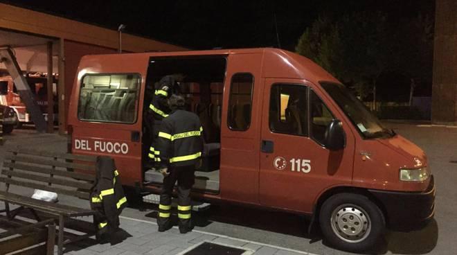 pompieri como per amatrice