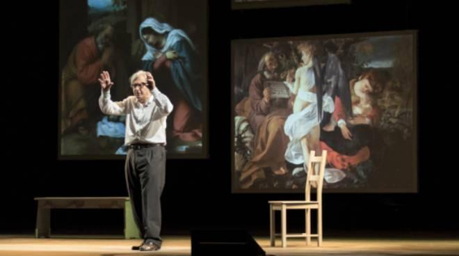 Vittorio Sgarbi in Caravaggio