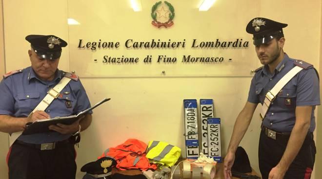 banda dei corrieri casnate carabinieri