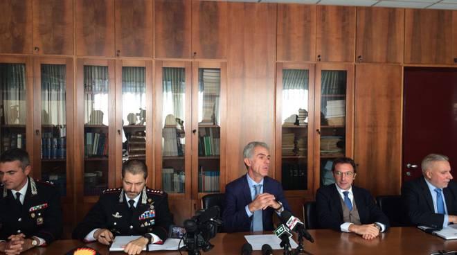 delitto carugo conf stampa carabinieri