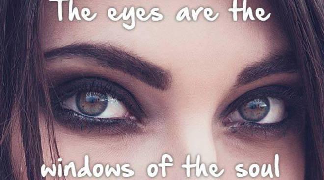 eye contact como