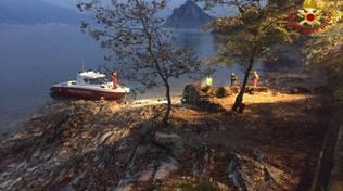 lago maggiore castelveccana sub annegato