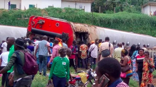 padre girola morto incidente ferroviario camerun