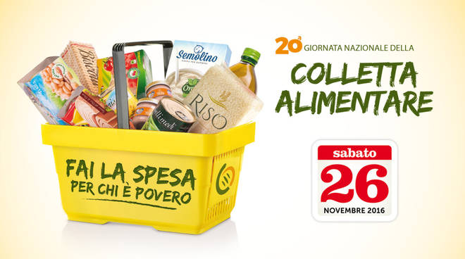 colletta alimentare 26 novembre