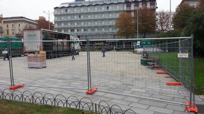 lavori piazza cavour como città dei balocchi