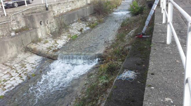 pulizia del torrente cosia al via da oggi