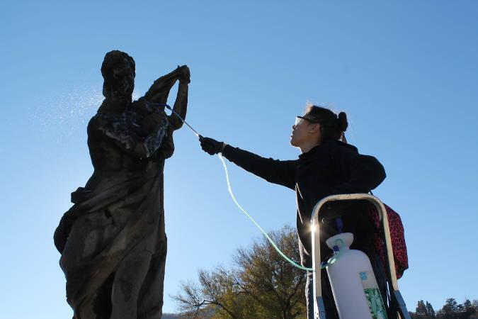 vilal olmo statue ristrutturate