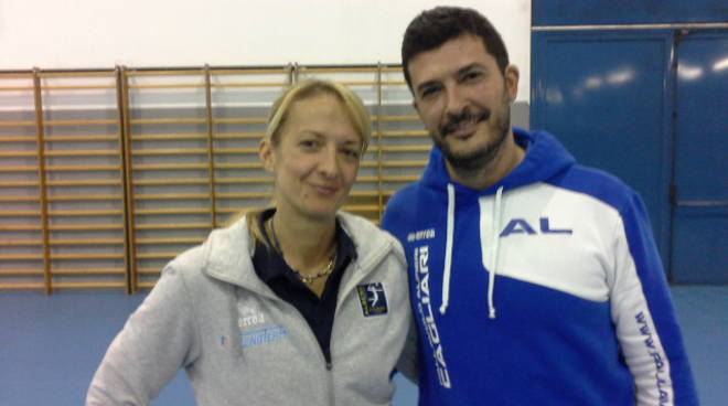 albesevolley debutto sara mazza panchina