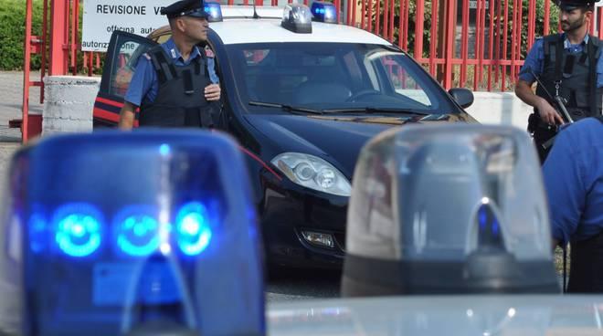 carabinieri furto lurate caccivio