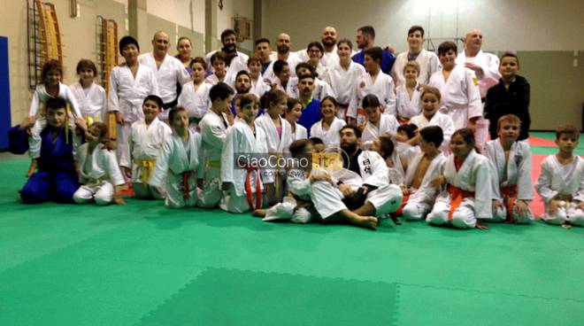 judo: Il Gruppo Sportivo Carabinieri ospite del Mon Club di Appiano Gentile