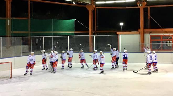 hockey como palazzetto di casate vuoto