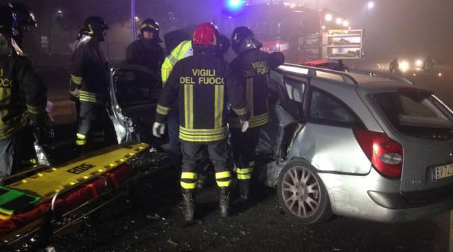 incidente auto cassina rizzardi provinciale