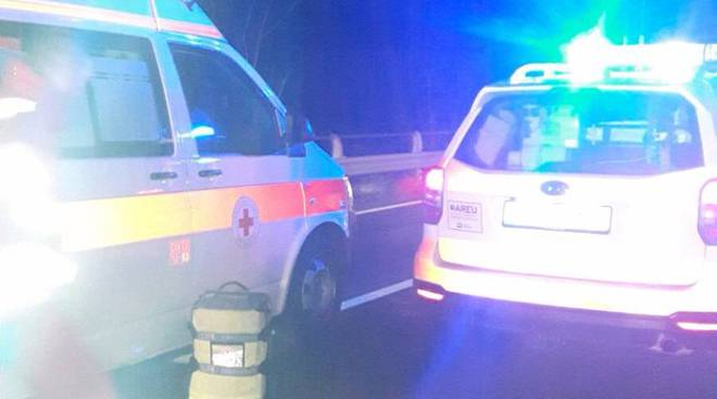 incidente notte grandola su regina