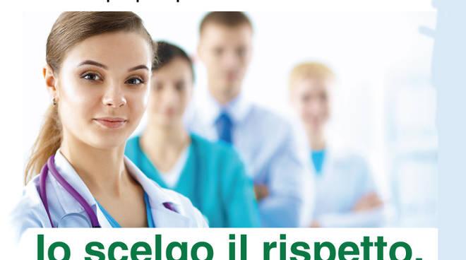 Ospedale Sant'Anna campagna violenza operatori