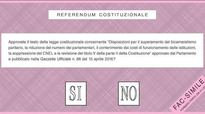 referendum scheda fac simile
