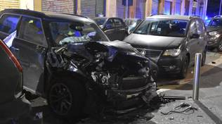 auto distrutte a milano da automobilista comasco
