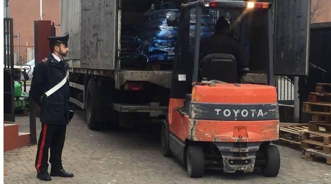 carabinieri e furto riso market mozzate