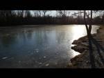 lago di carpanea ghiacciato inverigo