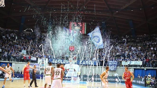 Le emozioni del derby di Desio; Forst Cantù - Ea7 Mliano