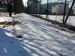 lora ghiaccio sui marciapiedi