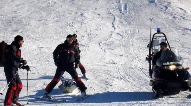 ragazzo morto pista da sci ad aprica