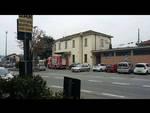 treno merci fermo stazione cantù asmago