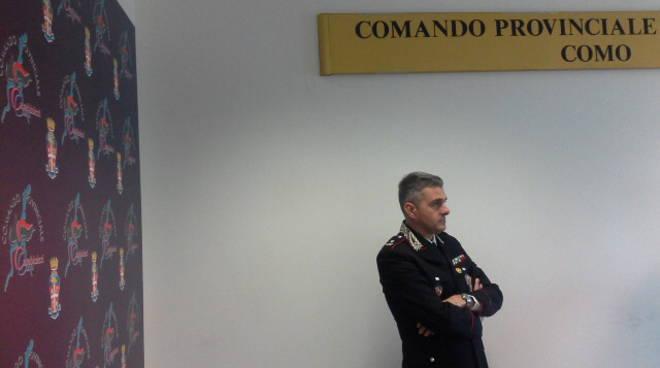 carabinieri como maggiore ilari e comandante sabatino