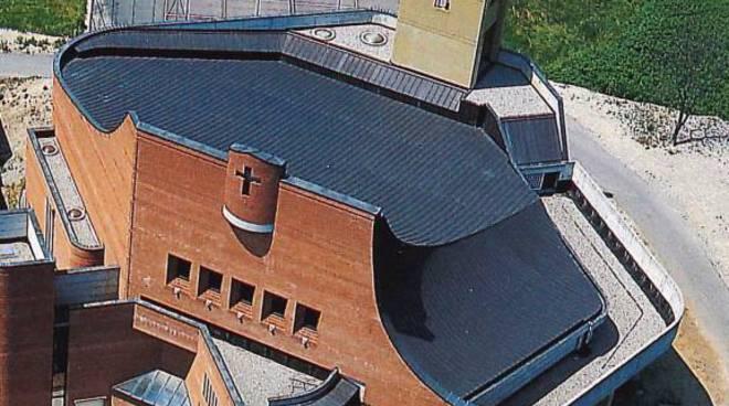 chiesa di sagnino visione da alto