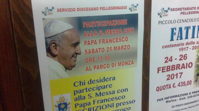 Diocesi di Como pronta per la visita del Papa a Monza