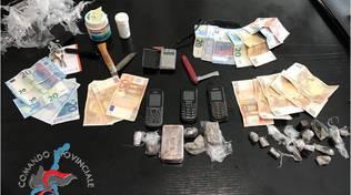 droga sequestrata dai carabinieri a lipomo