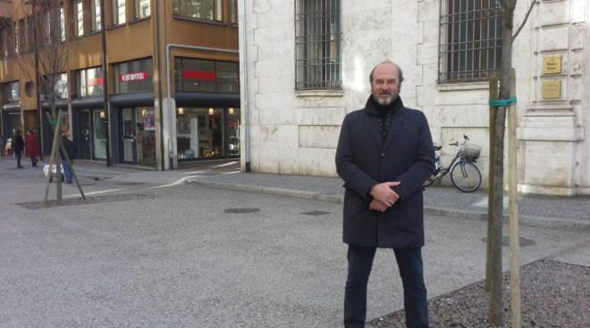 maurizio traglio candidato sindaco di como via garibaldi