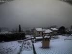 Pioggia a Como, neve sul Lario: ecco dove