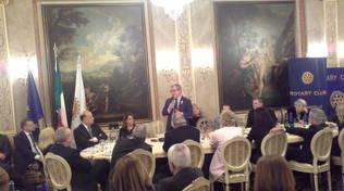 Roberto Maroni ospite d'onore dei Rotary lariani: il futuro di Como