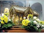 urna con reliquie di santa bernadette a como