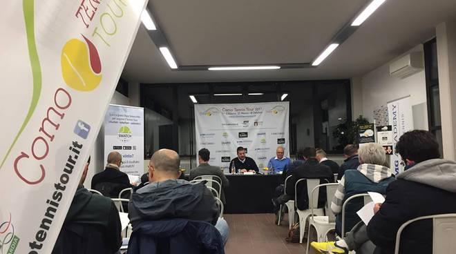 A Cantu' la presentazione del Como tennis tour 2017
