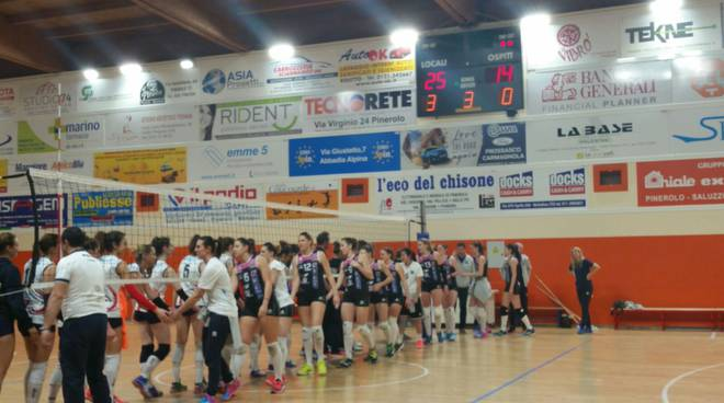 albesevolley sconfitta a pinerolo volley b1