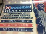 Alex Anderson arriva a teatro: presenta a CiaoComo Possibleshow