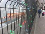 Da oggi tanti lucchetti sul cantiere delle paratie di Como