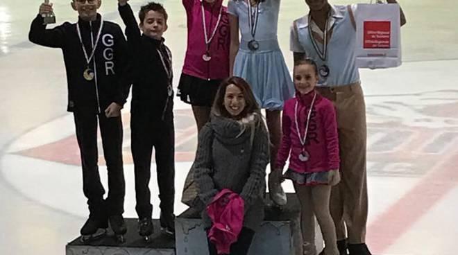gruppo giovanile ritmico campionato italiano aosta