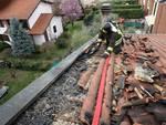 incendio tetto vertemate con minoprio