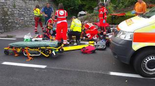 incidente su regina soccorsi ambulanza 118