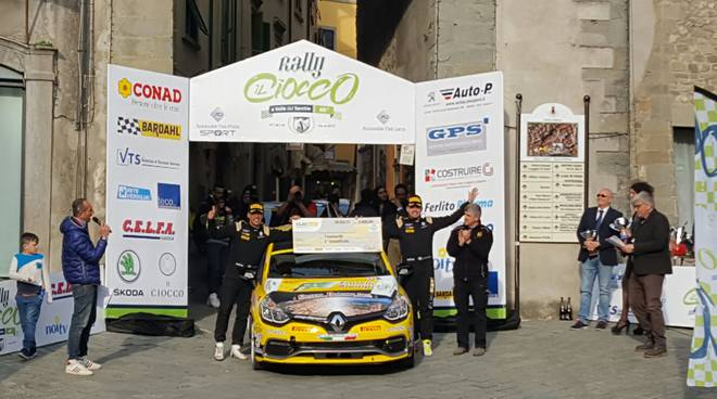 kevin gilardoni rally del ciocco italiano rally