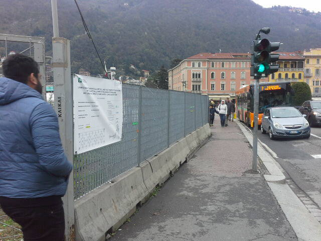 Lungolago di Como, tre mesi di tempo per ridare la passeggiata ai lariani