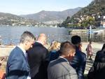 Maroni a Como: incontro con Zambrotta e via ai lavori del lungolago
