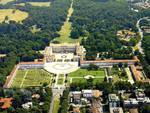 parco di monza da alto per messa papa francesco