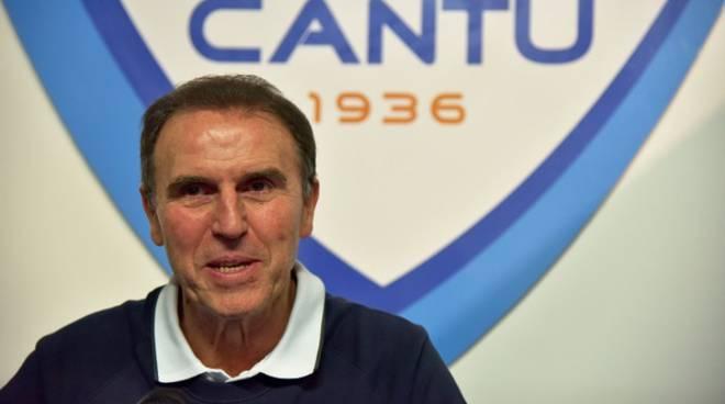 recalcatipallacanestro cantù nuovo coach